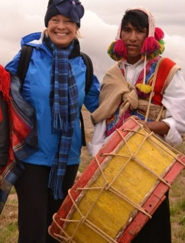 A Sights and Soul travelling woman in Peru.