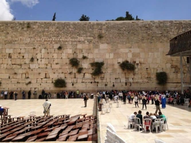 Western Wall divide in Israel.