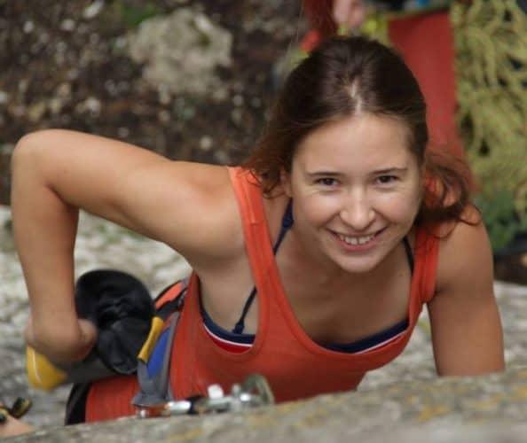 Climbing smile