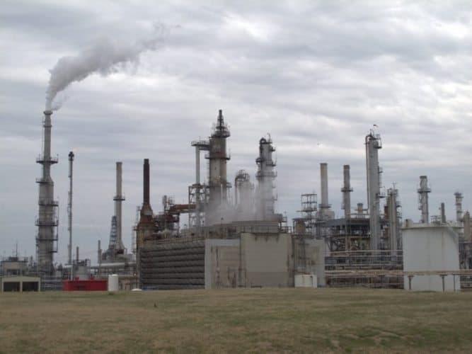 Conoco Phillips Refinery.