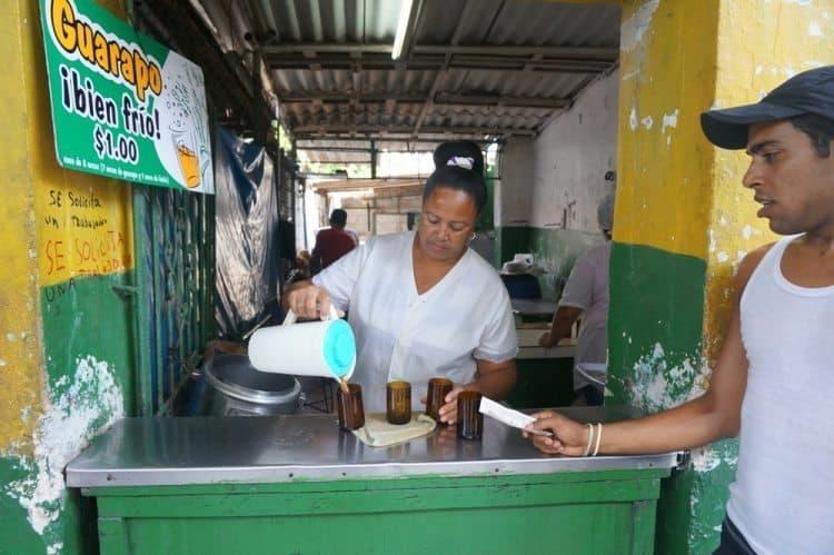 Delicious Sugar Cane Juice in Havana