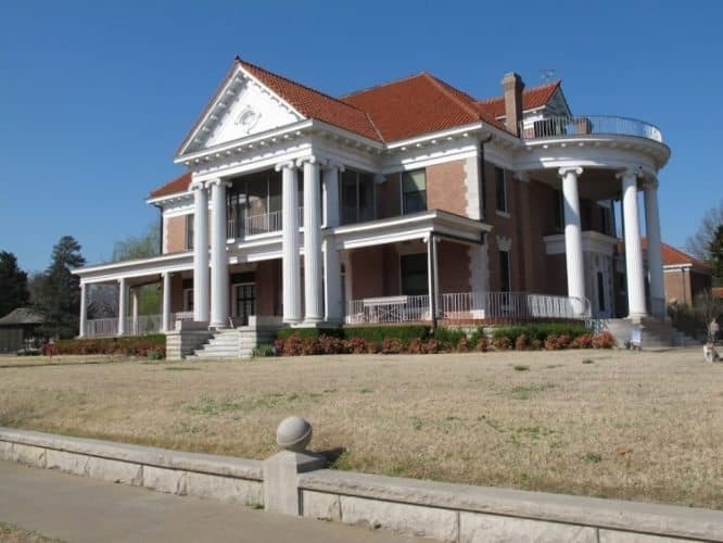 Frank Phillips Home.