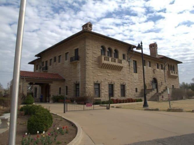Marland Mansion.