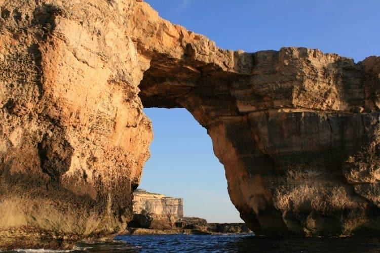 Azzure window on the island of Gozo.