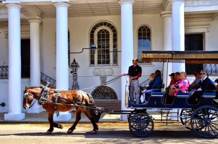 A carriage ride in historic Charleston South Carolina. Keith Hajovski photos.