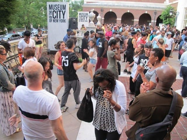 Annual Bounce Uptown Summer Series (after-hours Dance, Music, Gallery tours and talks) at the Museum City of New York and el Museo del Barrio in East Harlem