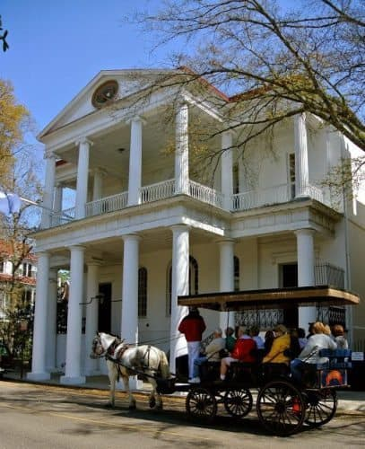 Old Charleston is famous for its beauty.