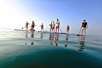 Paddling the Persian Gulf