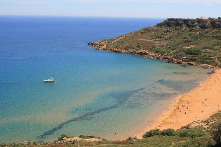 Rambla Bay in Gozo.