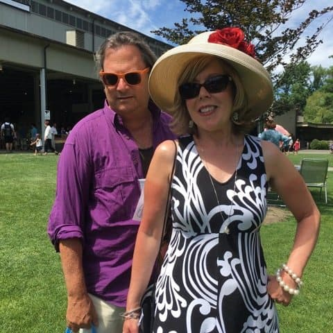 At Tanglewood, some women wear dresses and hats and everyone brings a fancy picnic to enjoy on the lawn while the BSO plays in the Shed.