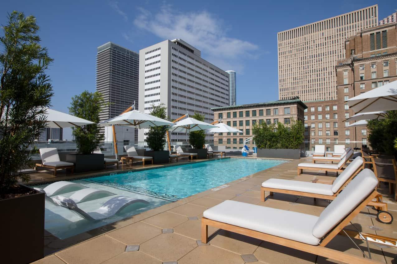 Hotel Alessandra 5th floor pool Houston