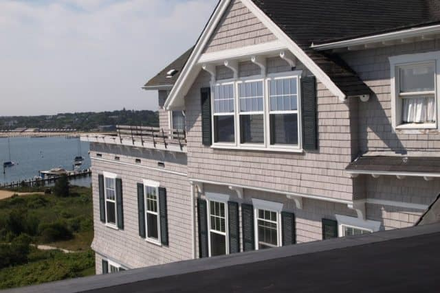 Penthouse apartment at the Harbor View Hotel, Edgartown, Mass. Max Hartshorne photos.