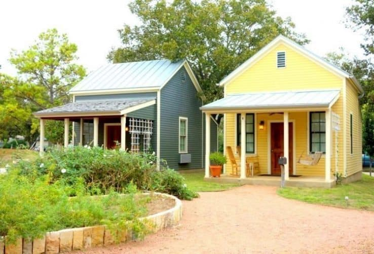 Sunday Haus Cottages at Frederick Herb Farm. Karin Leperi Photos.
