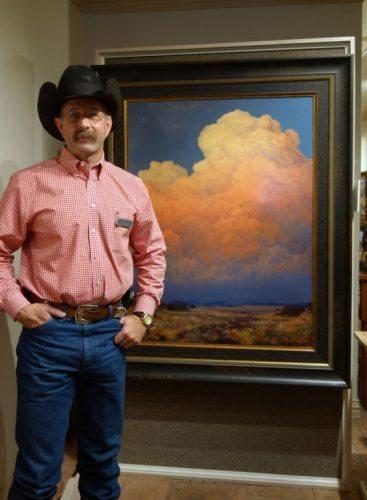 Texas Artist Phil Bob Borman.
