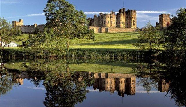 Ainwick castle.