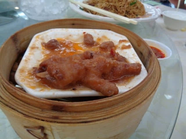 Chicken feet, or Phoenix claws as some Chinese refer to them.