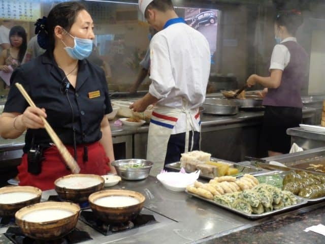 Breakfast in China. What is it like? Read more about what Sophie Deal ate in China.