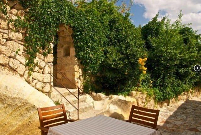 The cave hotel, Esbelli Evi in Urgup.