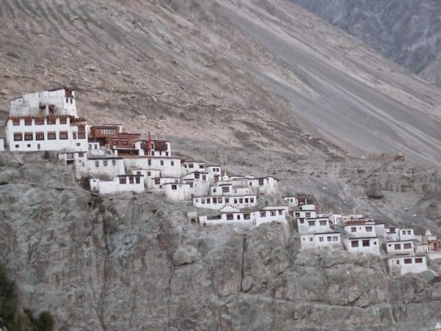 Gompas in Ladakh, India.