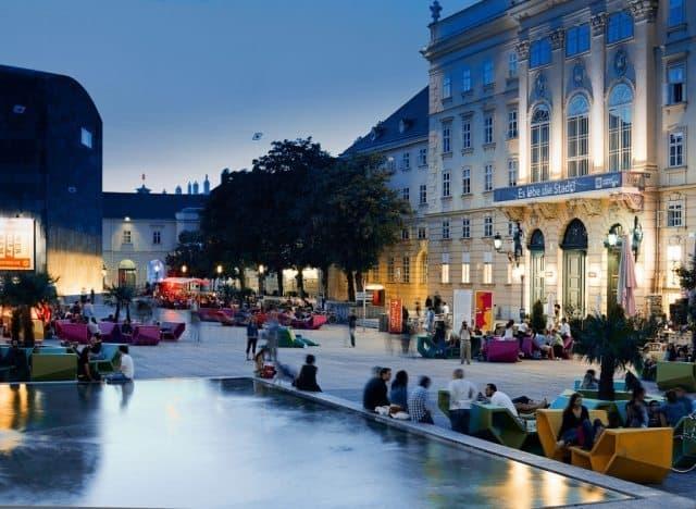 Vienna Museums Quarter. Österreich Werbung/Daniel Gebhart de Koekkoek Photos.