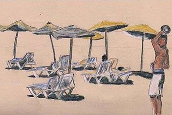 Morocco: Who's at da beach?