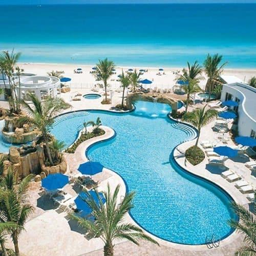 Trump International Resorts' vast waterpark--a kids haven in Miami.