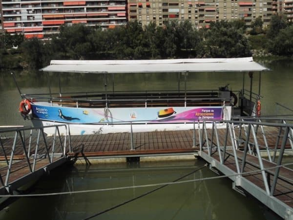 Ebro river boat