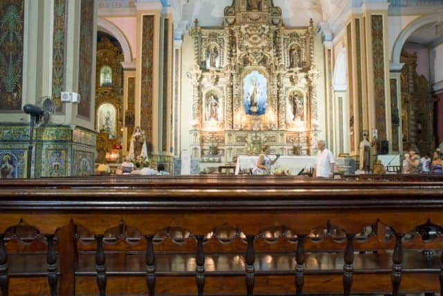 Catholicism is not gone in Cuba but has seen difficult times under Spanish rule and Fidel's controversial leadership.