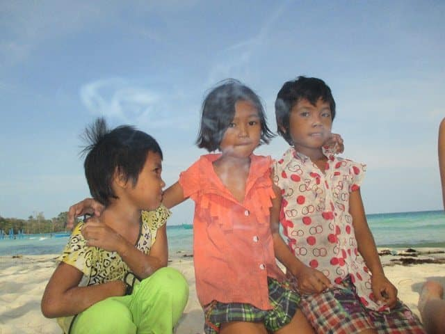 Volunteer with Friends of Koh Rong and enjoy spending time with the children on the island.