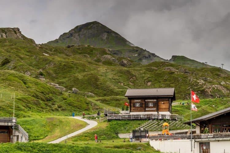 Kleine Scheidegg summit.
