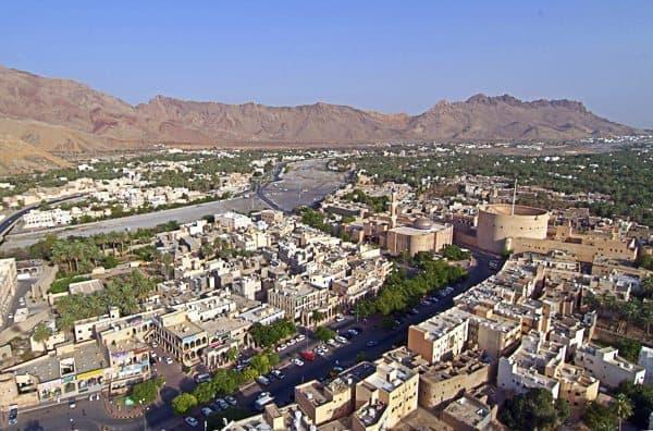 Oman Nizwa ariel view of Nizwa Photo Credit Khamis Al Moharbi 1