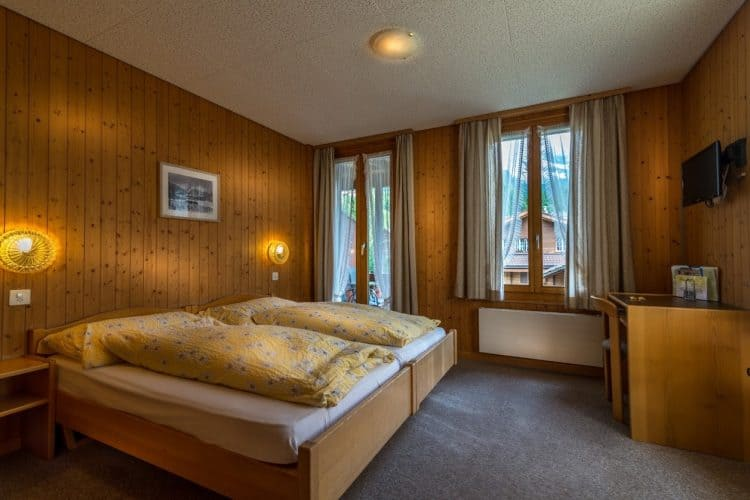 Standard Double Room at Hotel Edelweiss.