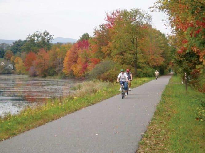 Biking the Western New England Greenway
