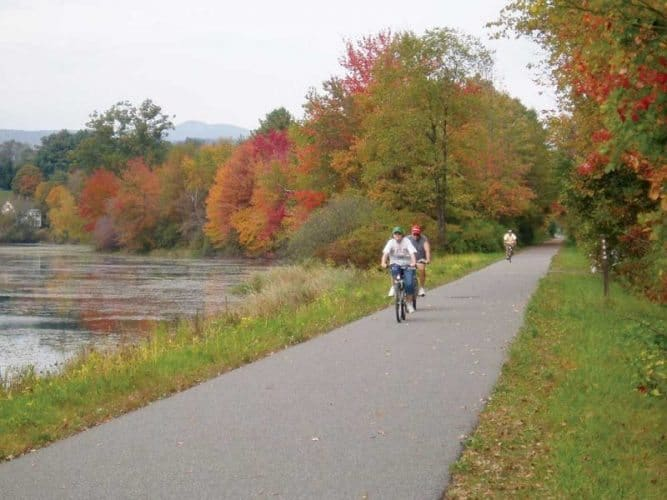 The Western New England Greenway. John Yuill Photos.