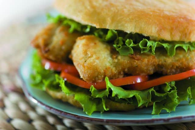 Bake n shark, a fish sandwich famous in Trinidad.
