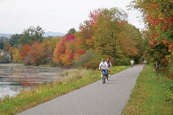 Biking the Western New England Greenway