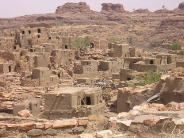 Dogon City Bandiagara Mali.