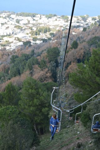 See the island on a chair lift to Monte Solaro.