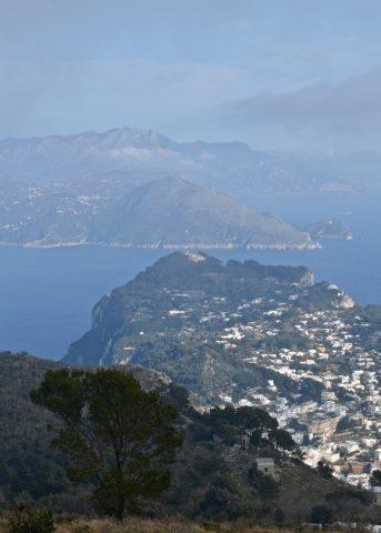 An incredible Monte Solaro lookout.
