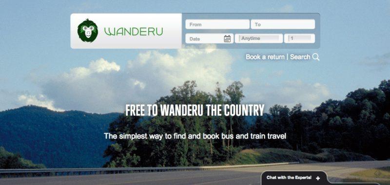 Wanderu home