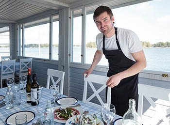 Antti Tuomola, founder of restaurant day,is first and foremost a wonderful chef.