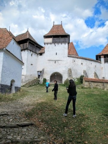 Many village churches in Transylvania were built hundreds of years ago to double as fortresses, providing refuge for villagers in case of attack. This fortified church in the village of Viscri is part of a UNESCO World Heritage site.