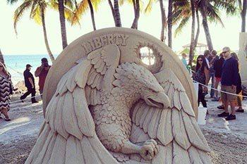 Key West Florida: Sand Art that Amazes