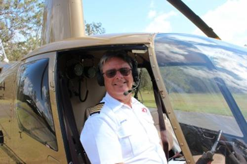 Take a helicopter ride with Captain Mike Jarvis and see Australia from above.