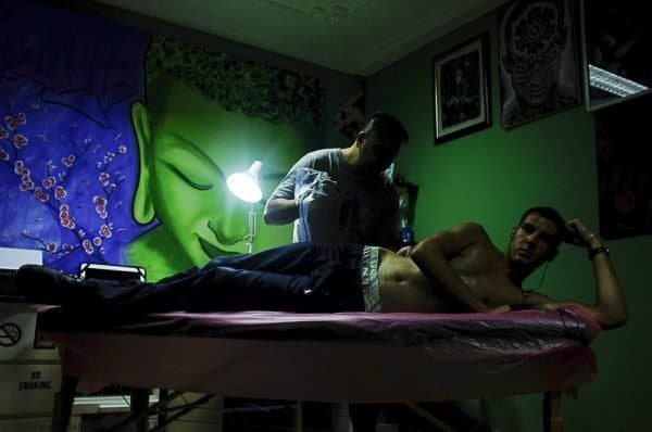 Bahrain: The Blue Haired Tattooist