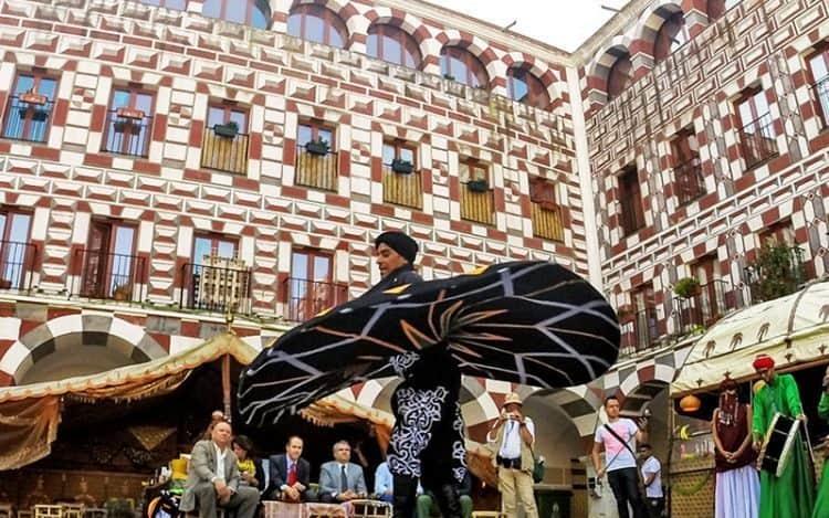 Arab dancers celebrate their heritage.
