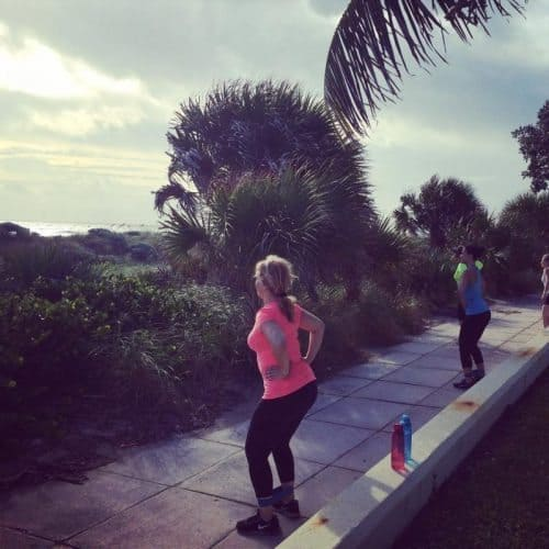 Bella Boot Camp gets participants outside at their fitness retreats, photo by Bella Boot Camp.