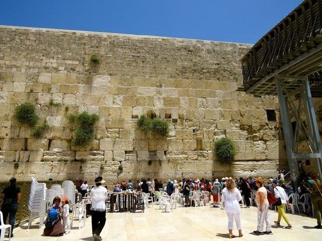 The Western Wall in Jerusalem. Jean Spoljaric photo.