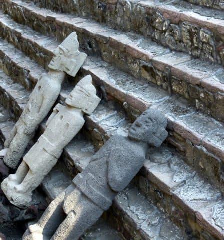 Templo Mayor (Great Temple) Excavation Site.