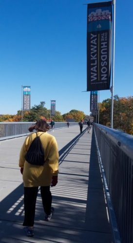 Walkway over the Hudson: a treat for walkings all the way over the big river.